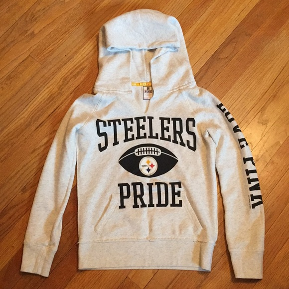 promo code 26184 9b687 Pink by Victoria's Secret Steelers Hoodie